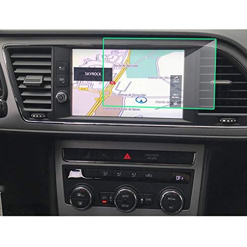 Pangtyus Película Protectora de Pantalla de GPS Coche, para Seat Leon X-Perience 2017 8 Pulgadas, Protector de Pantalla LCD de DVD de Radio de Vidrio Templado para navegación de Coche