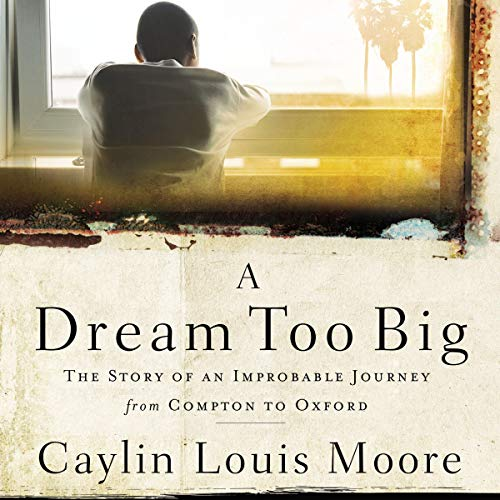 A Dream Too Big audiobook cover art