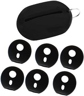 transparente almohadillas de repuesto HEMOBLLO 5 pares de tapones para auriculares con tapa de silicona antideslizante gel para el o/ído para Samsung Gear Circle SM-R130
