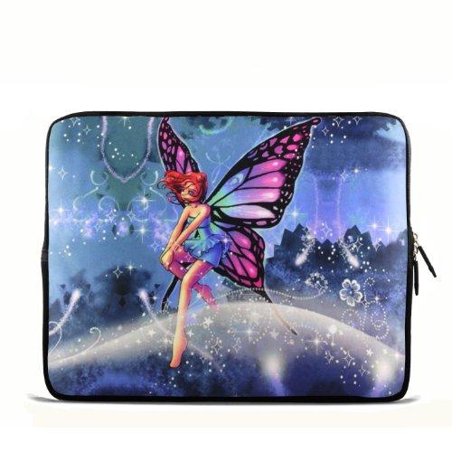 Butterfly Fairy 24,6cm 25,4cm 25,7cm 25,9cm Zoll Laptop Netbook Tablet Schutzhülle Sleeve Tasche für iPad 23/Asus EeePC 10Transformer/Acer Aspire One/Dell Inspiron Mini/Samsung N145/Toshiba/Kindle DX/Lenovo S205/HP Touchpad Mini 210