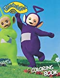 Teletubbies coloring book: Awesome Illustrations Coloring Books. Teletubbies Coloring Books For Kids And Adults