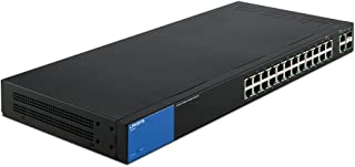 Linksys Business LGS326 24-Port Gigabit Smart Managed Switch with 2 Gigabit and 2 SFP Ports