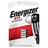 Energizer EN-639449 -Pile Alcaline A11 - E11A / 6V- B2 -Petit blister de 2 piles