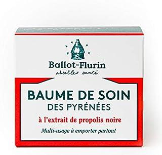 Ballot Flurin - Baume Soin Pyrénées - Propolis noire - Fabriqué en France - Certifié Comébio - 30 ml