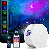 Galaxy Star Projector, Starry Night Light Projector for Kids Bedroom/Game Room/Home Theater/Party, LED Nebula Lamp with Music Speaker/Voice& Remote Control/Timer, Baby Adults Night Light Ambiance