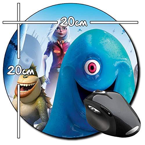Monstruos contra Alienigenas Monsters Vs Aliens B Alfombrilla Redonda Round Mousepad PC