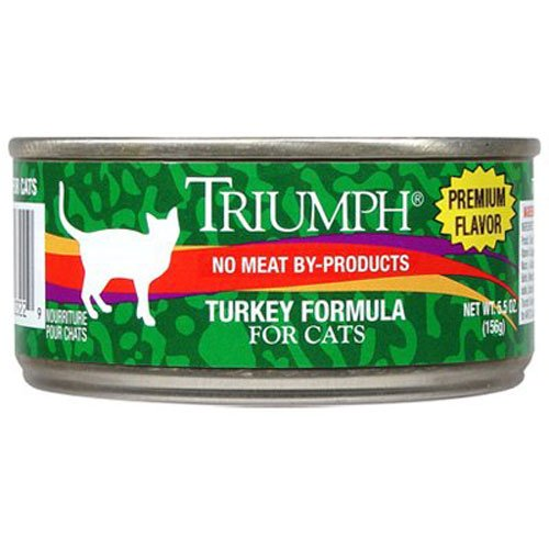 Triumph Turkey Cat Food - 24x 5.5oz