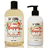 Kids Shampoo and Conditioner Set - Organic Moisturizing Vegan Hair...