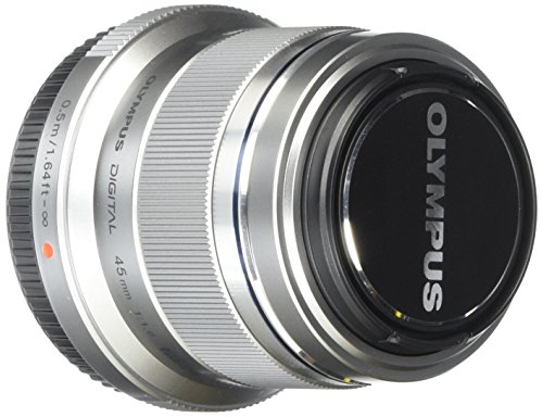 Olympus M.Zuiko Digital 45mm F1.8 Lens, for Micro...