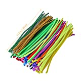 ULTNICE - Limpiador de pipas para manualidades, 200 unidades, multicolor