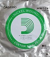D'Addario NW024弦×5本 ギターバラ弦