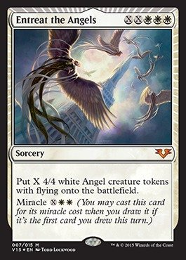 Magic: the Gathering - Entreat the Angels (007/015) - From the Vault: Angels - Foil by Magic: the Gathering