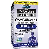 Garden Of Life Dr. Formulado Once Daily Hombres Probióticos 30 Cápsulas Vegetarianas 60 g