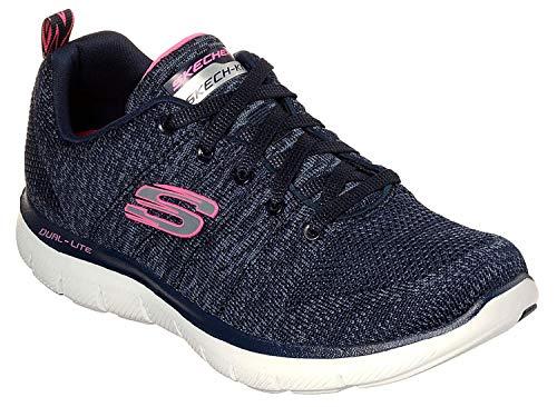 Skechers dames sneaker 12756 NVY blauw 659563
