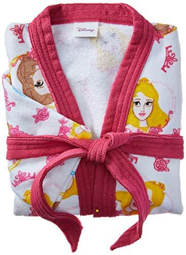 Roupão Aveludado Lepper Princesas Rosa Pequeno Pacote de 1 Algodão Tradicional