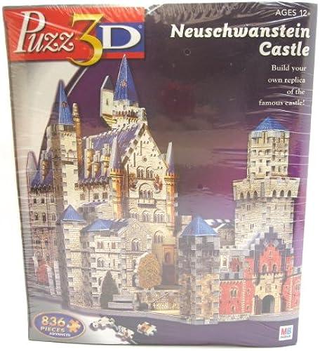 Puzz 3D - Neuschwanstein Castle - 836 pieces