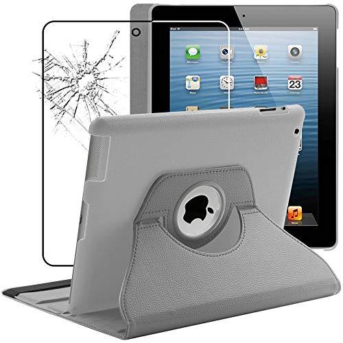 ebestStar - Funda Compatible con iPad 4 3 2 Carcasa Cuero PU,...