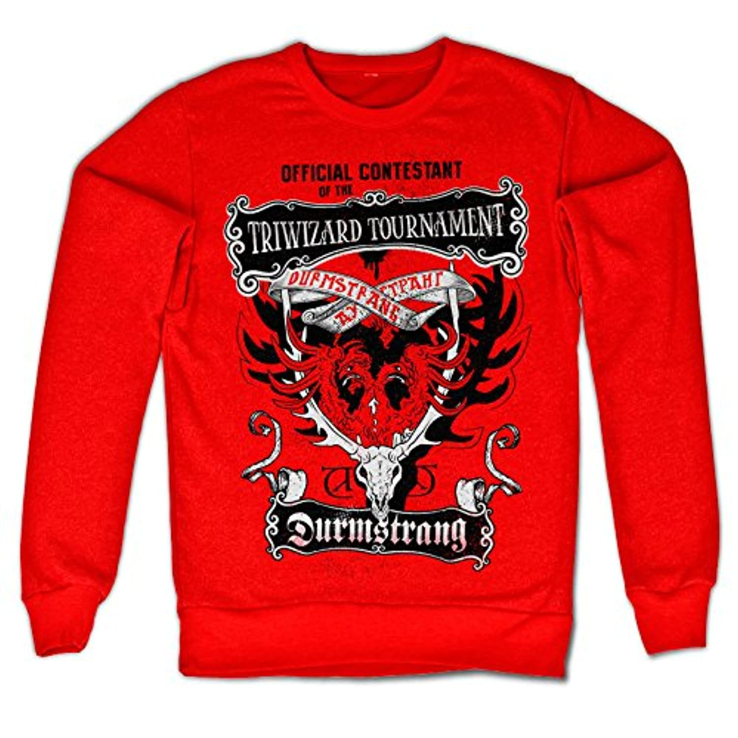 Officially Licensed Inked Harry Potter - Triwizard Tournament Sweatshirt (Red)