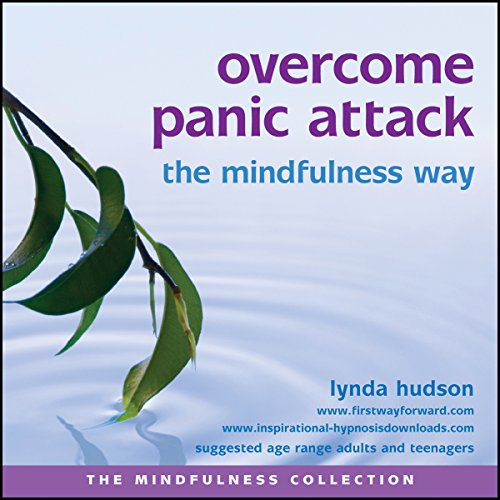 Overcome panic attack the mindfulness way audiobook cover art
