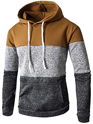 Sudaderas unisex con capucha para hombre y mujer, con bolsillos de Kanga, sudadera con capucha y chaquetas con cordón
