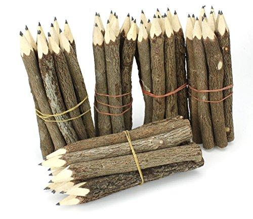 Thai Albero Ramo Ramoscello Pencil Bundle - Small Size - Solo nero - Multipack su 5 Bundles