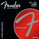 Fender 250B6 BASS VI Jeu de Cordes pour Guitare électrique .024-.084