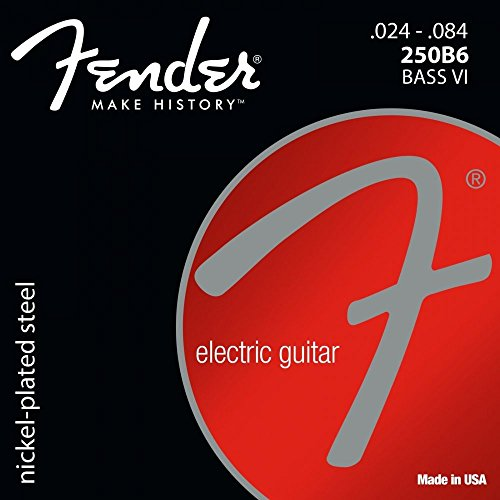 Fender 250B6 Bass VI Set · Cuerdas guitarra eléctr.