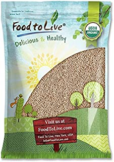 Organic Hulled Barley, 10 Pounds - Non-GMO, Kosher, Raw, Bulk Grain, Product of the USA