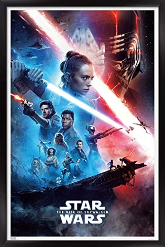 Jigsaw Puzzles 1000 Star Wars: The Rise of Skywalker - Official One Sheet Wall Poster