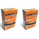 Continental Race Tube Wide 28' Cámara de Aire, Unisex-Adult, Negro, [25-622-32-630]
