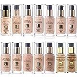 Base de maquillaje Facefinity 3 en 1 de Max Factor con más de 10 tonalidades diferentes a elegir