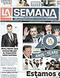 LA SEMANA Oklahoma s Spanish-English Newspaper January 6-12 2021 20th Anniversary Issue - Ricky Martin - Salma Hayek