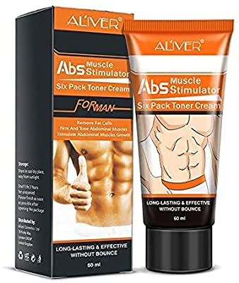 Hot Cream, Abs Extreme 4D Liposuction Body Slim Cream, Anti Cellulite Abdomen Workout Enhancer Sweat Cream, Body Slimming Treatment for Shaping Waist, Abdomen and Buttocks from Lily Store