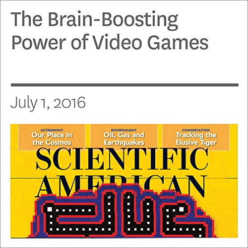 The Brain-Boosting Power of Video Games audiobook cover art