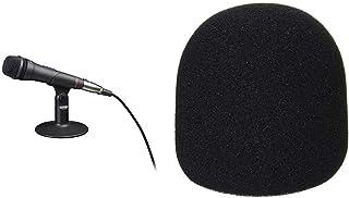 SONY エレクトレットコンデンサーマイクロホン PCV80U ECM-PCV80U + KC ウインドスクリーン ブラック WS-DM/BK