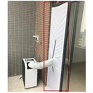G&M only 48 x 210 CM de Ventana AirLock, ubierta Aislante para Ventanas Abatibles y Puertas para Aparatos De Aire Acondicionado Portátiles y Secadoras