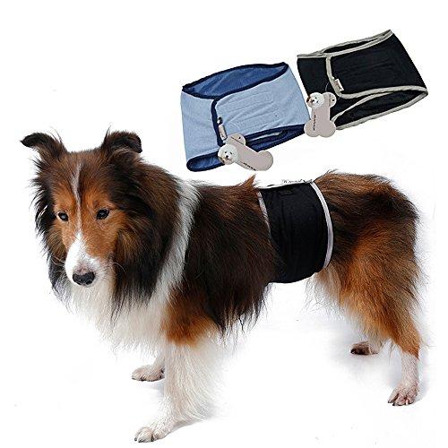 S-Lifeeling Pañales lavables para perro masculino y sanitario, protector de bragas, pantalones grandes