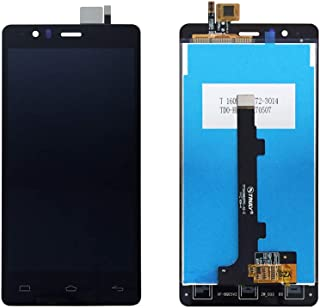 JayTong - visualización LCD y digitalizador de visualización táctil de Repuesto para BQ Aquaris E5 4G 0982 TFT5K0982FPC-A2-E Negro