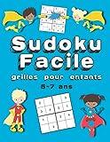 Sudoku Facile Grilles Pour Enfants: 150+ Grilles de Sudoku | 5-7 Ans | Gros Caractères