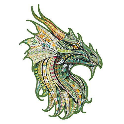 THESHYER 1 pc de Pegatina de Animal dragón extraíble se Puede Utilizar para Decorar la Tapa del Inodoro y el baño