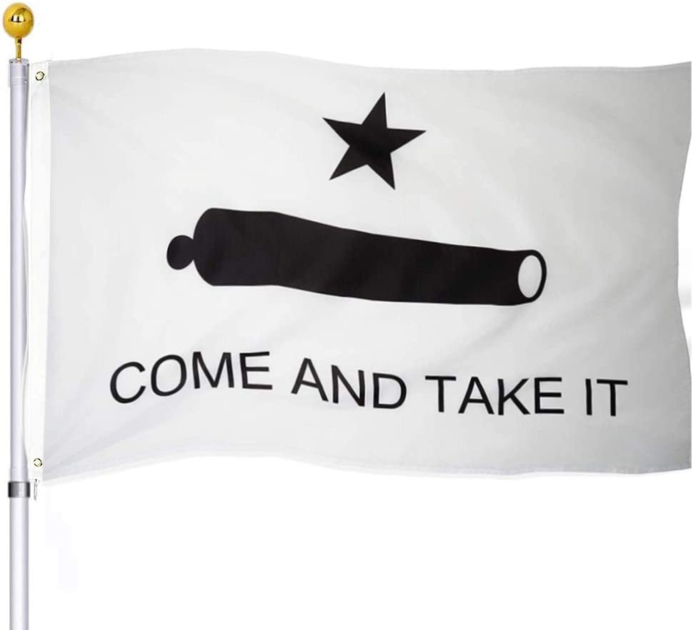UTSANG Come and Take It Flag Outdoor- Fl Gonzales 3x5 Historical Memphis Super sale period limited Mall