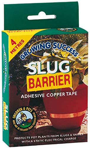 William Sinclair Horticulture ltd Growing Success Ruban barrière Anti-limaces en cuivre 4 m