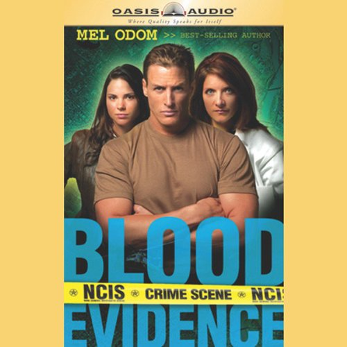 Blood Evidence audiobook cover art