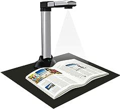 eloam Portable Book & Document Scanner, Auto Flatten, Split & Deskew, Convert Images to Word/Excel/PDF, PC only, 1860TM
