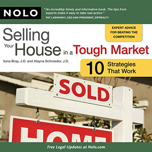 Selling Your House in a Tough Market: 10 Strategies That Work audiobook cover art