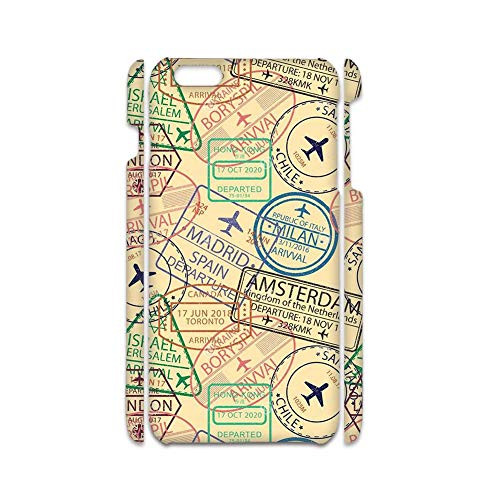 Printing Stamp 2 Well Rigid Plastic Phone Shells Compatible with Apple iPhone 6 4.7 For Boy Choose Design 125-5