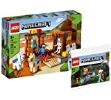 Collectix Lego Set – Lego Minecraft The Skeleton Defense 21167 – Juego de construcción de Lego (bolsa de plástico) 30394