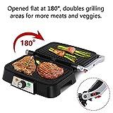 Zoom IMG-2 aigostar hitte 30hfa panini maker