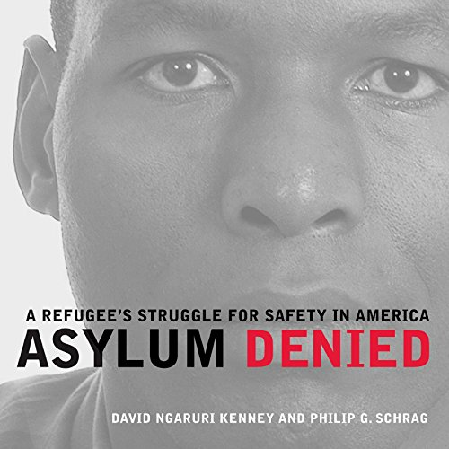 Asylum Denied audiobook cover art