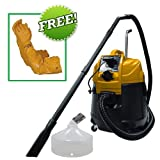 Marvin Gardens Store Matala Power Cyclone Pond Vacuum Continuous Pond Vac with Power Discharge with Gravel Head Attachment Plus Free Atlas Pond Gloves